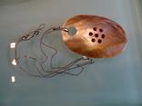 Перламутровый кулон на серебренной цепочке. 5,9*4 см., фото №2