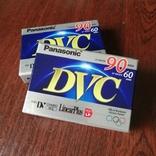 Видеокассеты Panasonic miniDV - 2 шт., фото №3