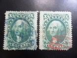 Классика США. 1857 г. Дж. Вашингтон. Каталог- 704 дол. США, фото №4