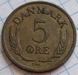 Дания 5 оре 1964, фото №2