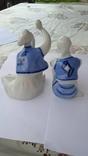 Фарфор статуэтки Гуцулы, Коростень Трегубова В.М., фото №3