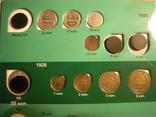 Коллекция монет 1922-57г. в двух альбомах 209 шт., фото №3