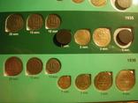 Коллекция монет 1922-57г. в двух альбомах 209 шт., фото №8