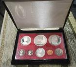 Набор монет Каймановые острова 1979. Пруф. Серебро. 8 монет, фото №2