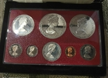 Набор монет Каймановые острова 1979. Пруф. Серебро. 8 монет, фото №3