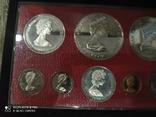 Набор монет Каймановые острова 1979. Пруф. Серебро. 8 монет, фото №5