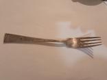 Вилка серебряная, фото №2