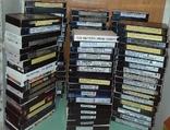 Видеокассеты 110 шт с первой записью (Чаплин, Радзинский, политика, история)., фото №2