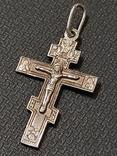 Крест серебро 925*, фото №2