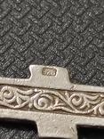 Крест серебро 925*, фото №5