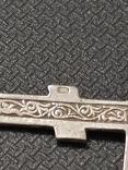 Крест серебро 925*, фото №6