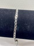 Серебряные браслеты 5 штук, фото №6