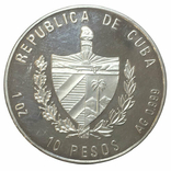 10 песо 2002 года. Владимир Ленин, фото №3