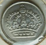 Швеция 10 эре 1958 серебро, фото №3