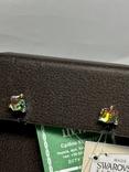 Серебряные серьги 6 штук, фото №5