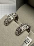 Серебряные серьги 6 штук, фото №7