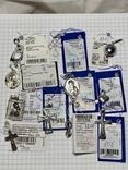 Серебряные подвески 11 штук, фото №2