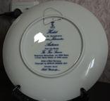 "Набор декоративных тарелок ""Времена года"" Berlin Design 1977 год, фото №3"