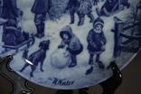"Набор декоративных тарелок ""Времена года"" Berlin Design 1977 год, фото №9"