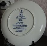 "Набор декоративных тарелок ""Времена года"" Berlin Design 1977 год, фото №10"