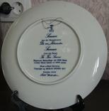 "Набор декоративных тарелок ""Времена года"" Berlin Design 1977 год, фото №13"