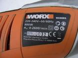 Шабельна пила WORX WX80RS 800W з Німеччини, фото №10
