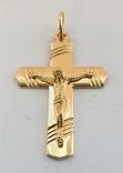 Крест, золото 750*, Италия, фото №5