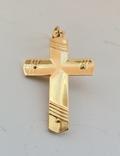 Крест, золото 750*, Италия, фото №8
