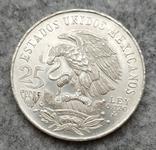 Мексика 25 песо 1972 серебро, фото №3
