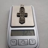 Крестик серебряный 3 см, фото №5