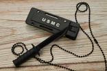 Мини армейский нож USMC. реплика, фото №6