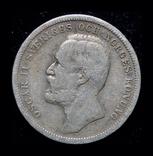 Швеция крона 1890 серебро, фото №2