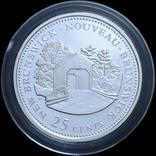 Набор 25 Центов 1992 125 лет Конфедерации, Канада, фото №3