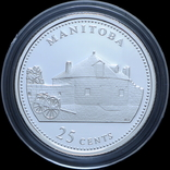 Набор 25 Центов 1992 125 лет Конфедерации, Канада, фото №4