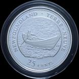 Набор 25 Центов 1992 125 лет Конфедерации, Канада, фото №8