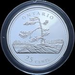 Набор 25 Центов 1992 125 лет Конфедерации, Канада, фото №13