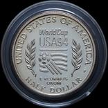 Набор 50 Центов и 1 Доллар 1994 Чемпионат Мира по Футболу, США, фото №6