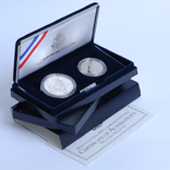 Набор 50 Центов и 1 Доллар 1994 Чемпионат Мира по Футболу, США, фото №2