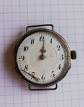 Карманные серебряные часы механика не на ходу, фото №9