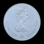 5 Долларов 1973 Карта Канады (Серебро 0.925, 24.3г), Канада, фото №3
