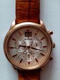 Швейцарские наручные часы Edox 10005-37RAIR с хронографом, фото №2