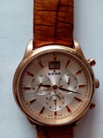 Швейцарские наручные часы Edox 10005-37RAIR с хронографом, фото №3