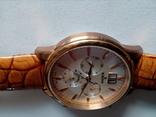 Швейцарские наручные часы Edox 10005-37RAIR с хронографом, фото №5