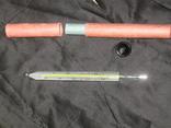 Иедицынский ртутный термометр в картонной тубе. ГОСТ 302-79. Ц38к., фото №2