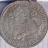 Половина Талера.Георг Вильгельм. Бранденбург 1635 год., фото №2