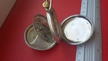 Часы BRENETS в серебряном корпусе трехкрышечные, фото №4