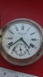 Часы BRENETS в серебряном корпусе трехкрышечные, фото №5