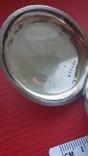 Часы BRENETS в серебряном корпусе трехкрышечные, фото №7