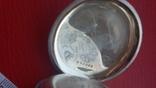 Часы BRENETS в серебряном корпусе трехкрышечные, фото №9