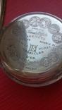 Часы BRENETS в серебряном корпусе трехкрышечные, фото №12